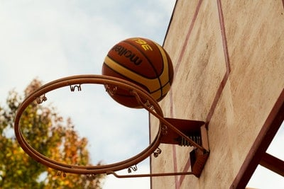 54 inch basketball hoop